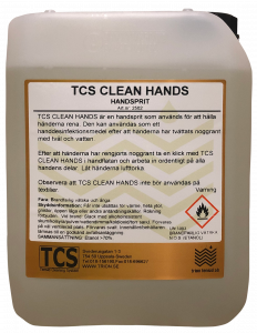 TCS Clean Hands
